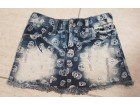 Teksas suknja za devojcice- Philipp Plein fazon