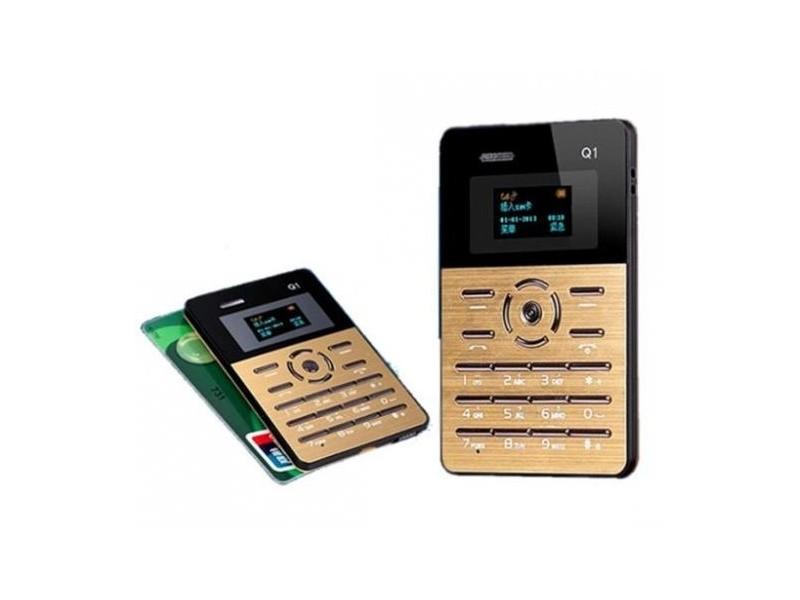 Telefon kreditna kartica Q1 ALU GOLD