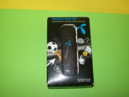 Telenor USB internet / sms modem Huawei E1552