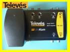 Televes Minikom Launch Amplifier 4 In (FM-DAB-UHF1-UHF2