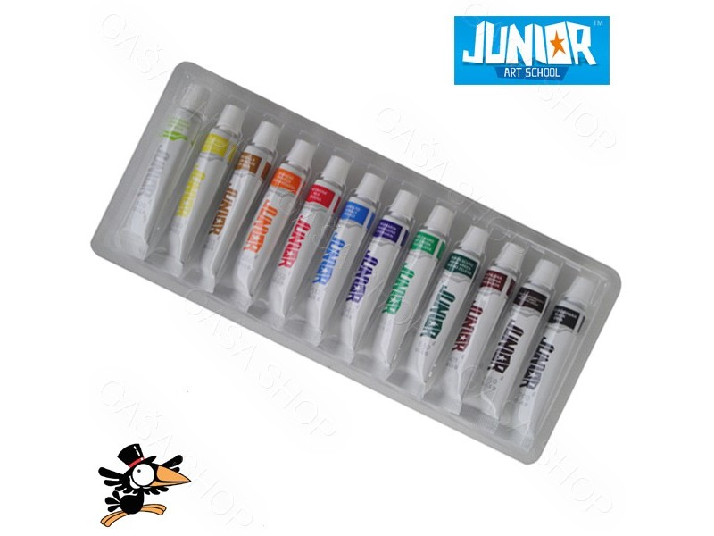 Tempere Junior Kids Colors Eco 12x6ml Art.132005
