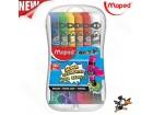 Tempere Maped Color Peps 12x12ml  pvc box No. 810520
