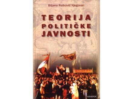 Teorija Politicke Javnosti - Biljana Ratkovic Njegovan