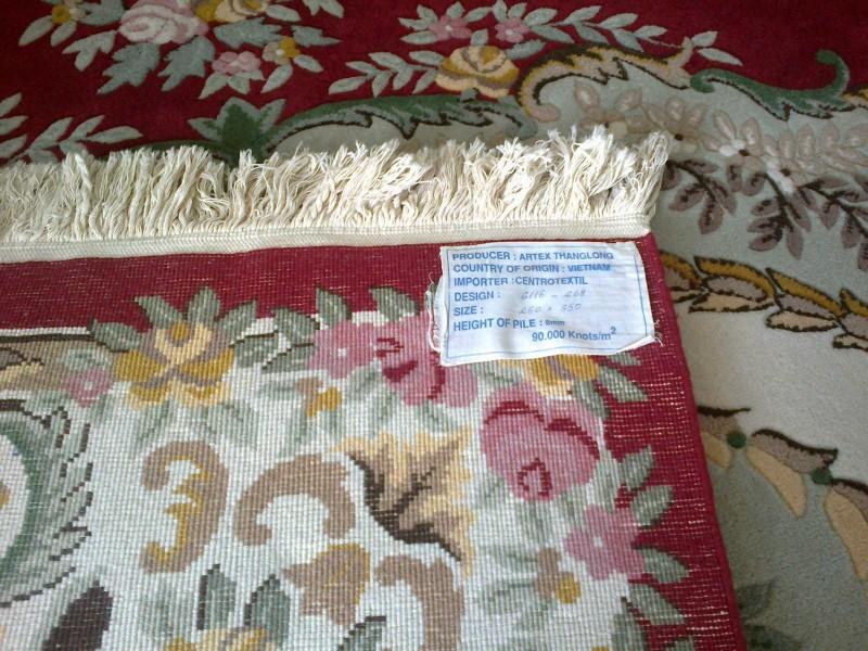 Tepih, ručni rad, vuneni