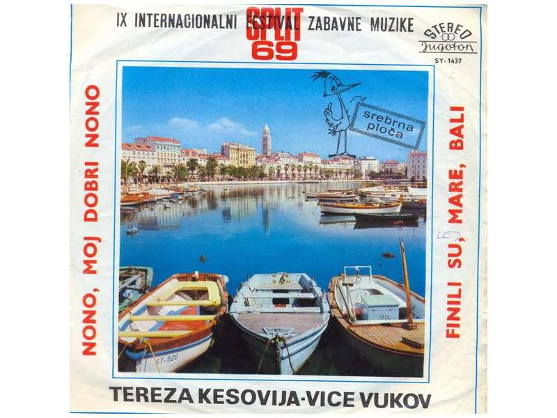 Tereza Kesovija, Vice Vukov - IX Internacionalni Festival Zabavne Muzike Split 69