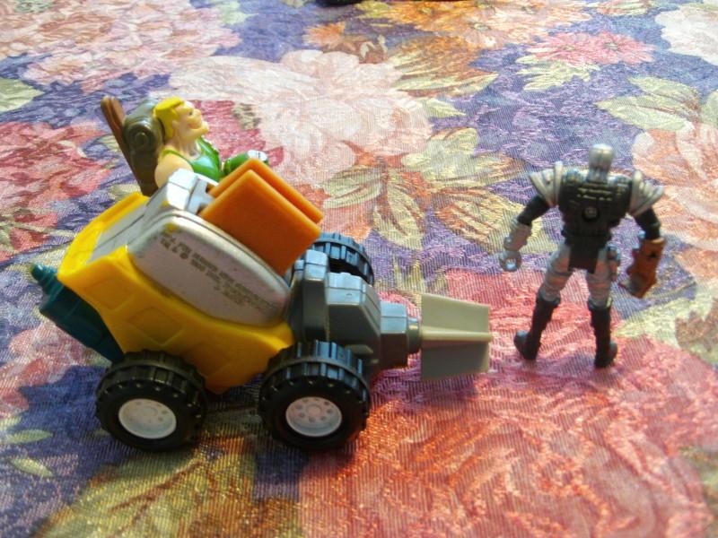 Terminator Komando u vozilu i Kiborg