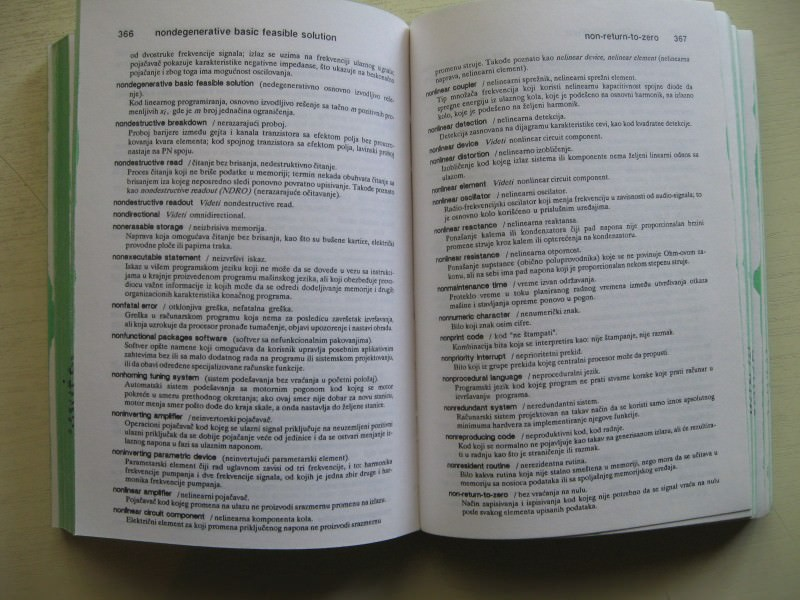Terminosloski recnik englesko-srpskohrvatski racunari