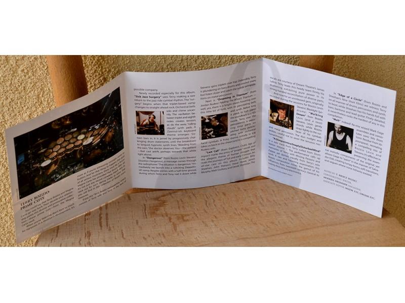 Terry Bozzio - Prime Cuts (From Terry Bozzio Magna Carta Sessions)