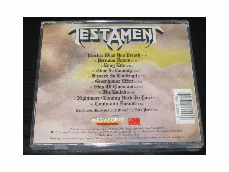 Testament (2) - Practice What You Preach