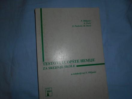 Testovi iz opšte hemije za sš,F.Miljanić,egzakta
