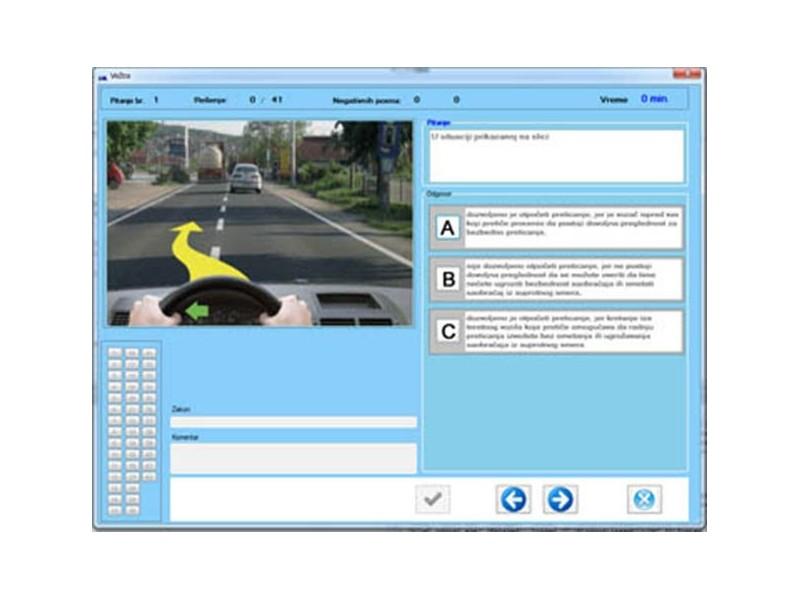 Testovi za vozački