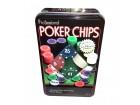 Texas Hold-Em - Numerisani poker čipovi (100 kom.)
