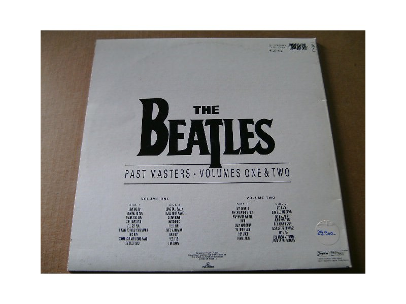 The Beatles - Past Masters Volumes One & Two