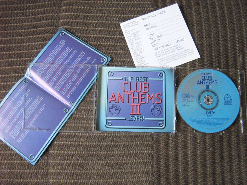 The Best Club Anthems III...Ever! (2xCD)