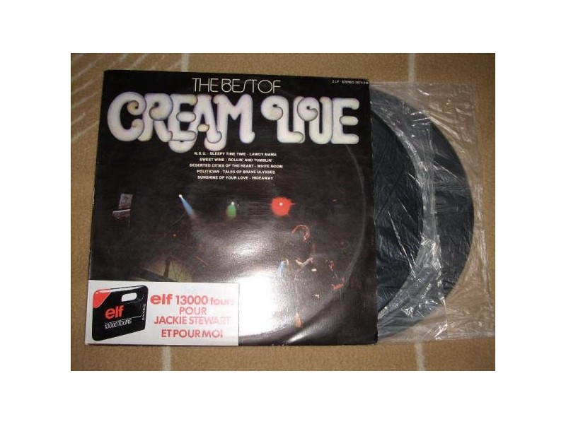 The Best Of Cream Live 2LP
