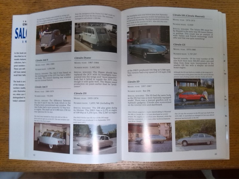 The Complete Encyclopedia of Saloon Cars 1945-1975