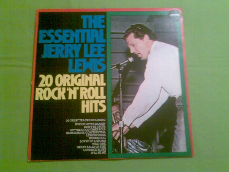 The Essential Jerry Lee Lewis - 20 Original Rock`n`Roll Hits