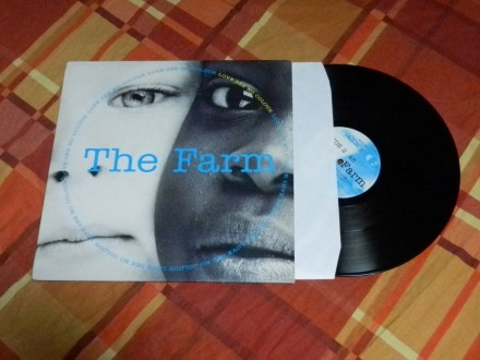 The Farm - Love See No Color 12` UK 1991 Produce Record