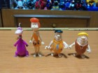 The Flinstones kinder 4 figure Kremenko i Kamenko