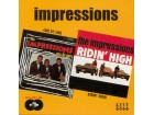 The Impressions - One By One / Ridin` High NOVO