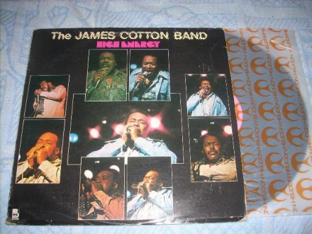 The James Cotton Band ‎– High Energy LP