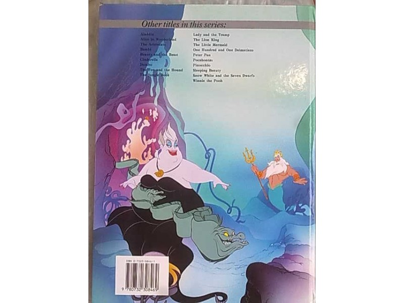 The Little Mermaid-Walt Disney`s