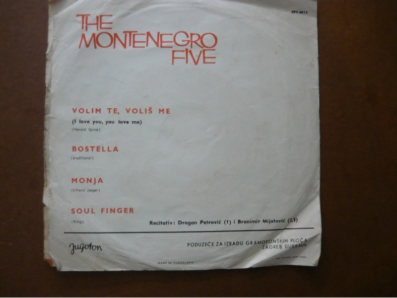The Montenegro Five - Volim te volis me