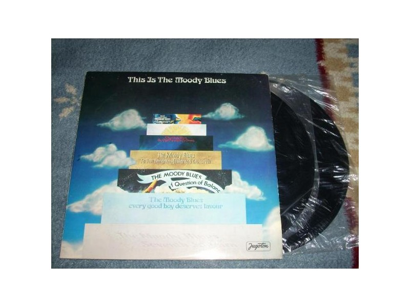 The Moody Blues ‎– This Is The Moody Blues 2LP