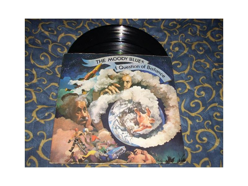 The Moody Blues-A Question Of Balance LP