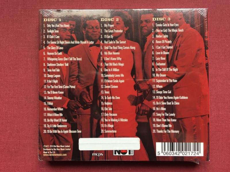 The Platters - THE ULTIMATE COLLECTION 3CD  2014