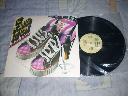 The Pointer Sisters – Steppin` LP RTB