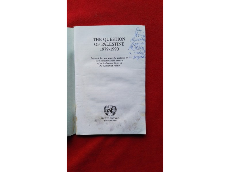 The Questin of Palestine 1979-1990