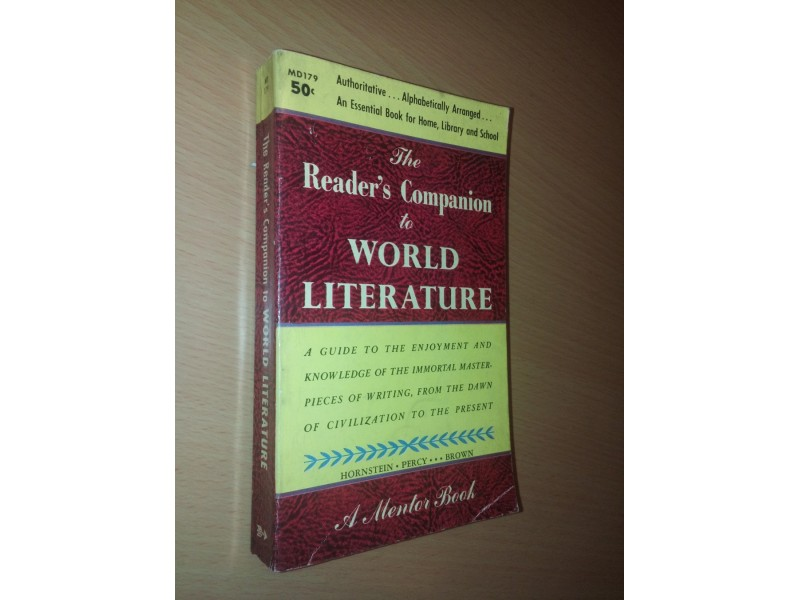 The Reader`s Companion to World Literature