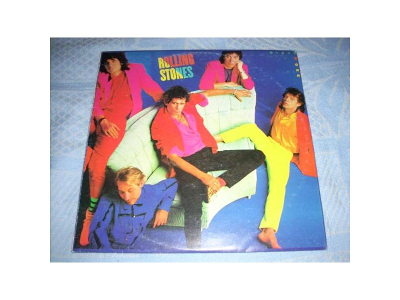 The Rolling Stones-Dirty Work LP