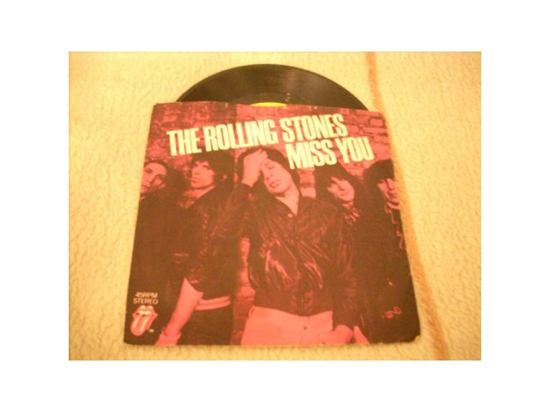 The Rolling Stones-Miss You 7` singl