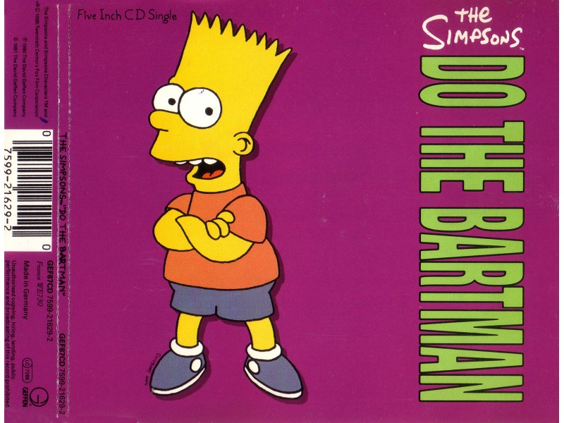 The Simpsons -  Do The Barthaman