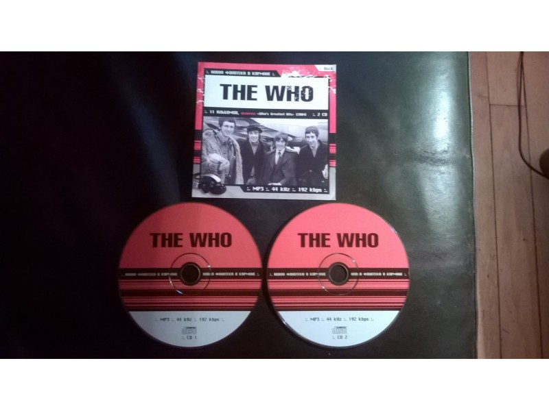 The Who - Double Mp3 collection
