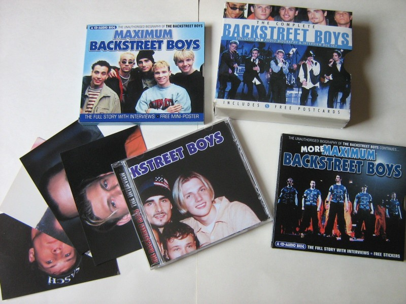 The complete Backstreet boys (3xCD)