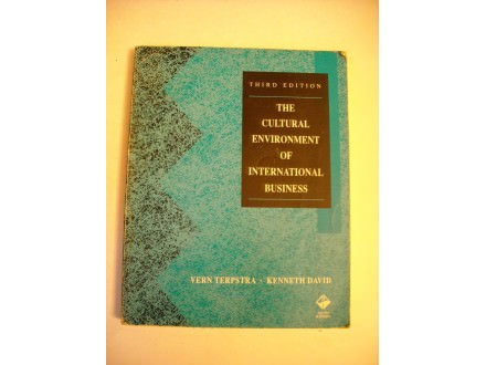 The cultural environment of international business, Terpstra/David