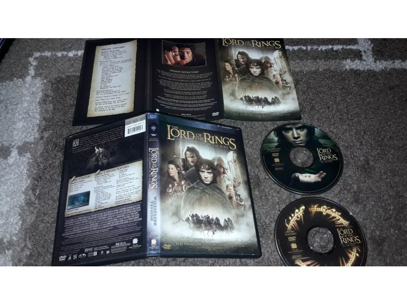 The lord of the rings: The fellowship of the ring 2DVDa
