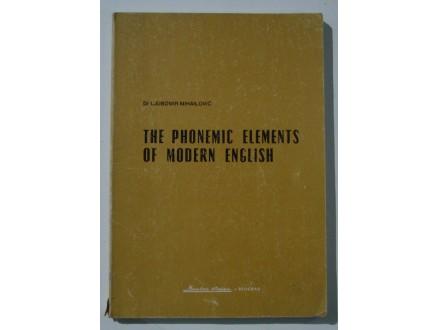 The phonetic elements of modern english, Lj. Mihailović