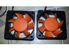 Thermaltake SilentMatic 2 x 6 x 2,5 cm Orange Wings