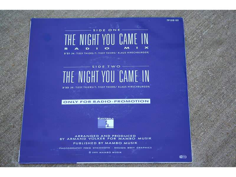Thiers On Tracks - The Night You Came In