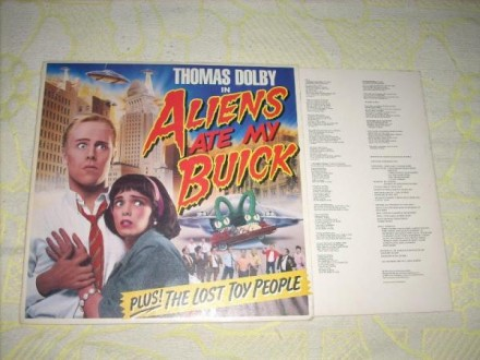 Thomas Dolby-Aliens Ate My Buick LP