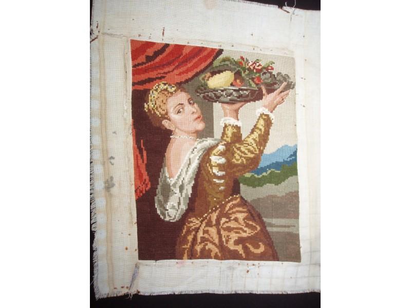 Ticijanova kcerka Lavinija,Wiehlerov goblen,2704-6