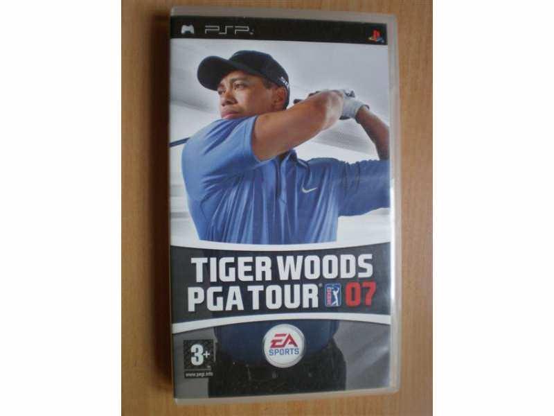 Tiger Woods PGA Tour 07 - za Sony PSP