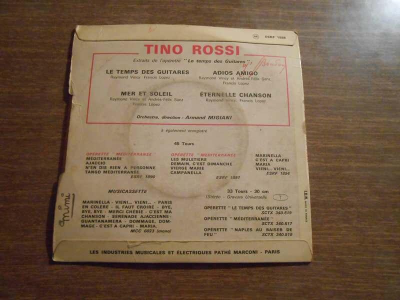 Tino Rossi - Le Temps Des Guitares