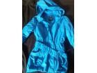 Tirkizno plava jakna