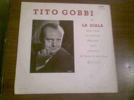 Tito Gobbi - Tito Gobbi At La Scala