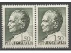 Tito redovne 1.50 din 1967.,u paru,čisto